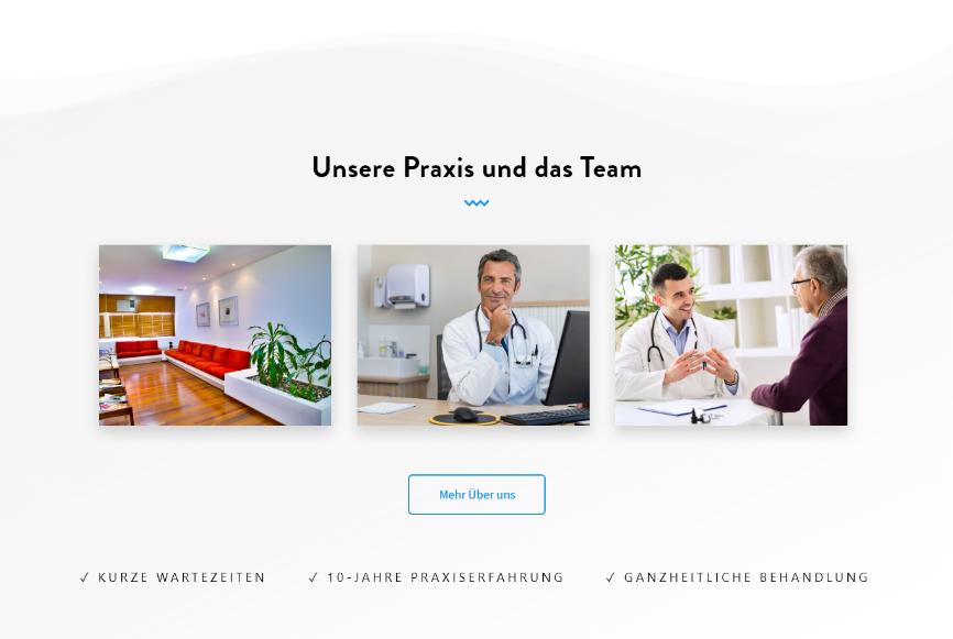 webdesign für ärzte - vorteile praxis